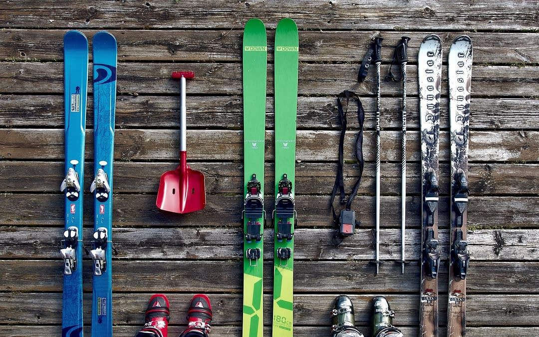 Ski gear which can easily be rented out
